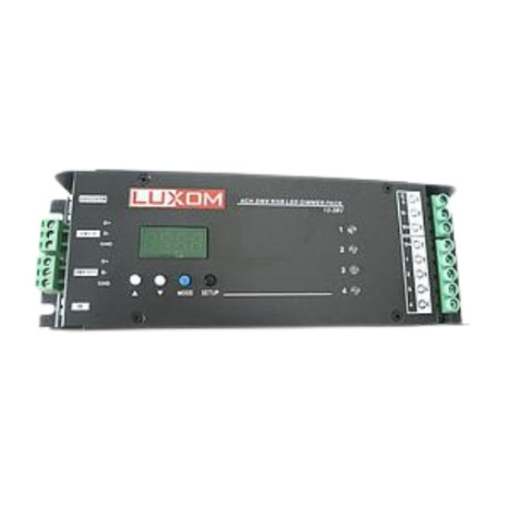 DMX LED dimmer 4x 5A (Max. Output 4x5A )