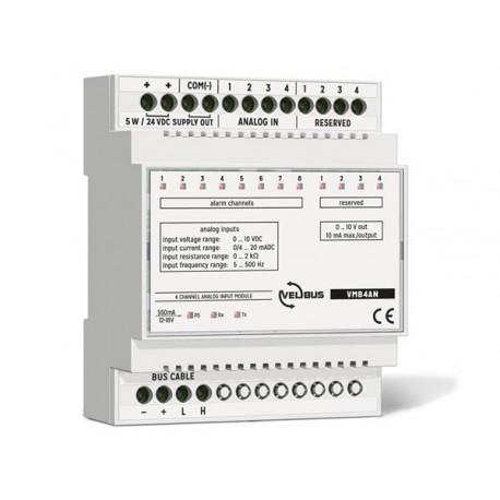 4-channel analog input module