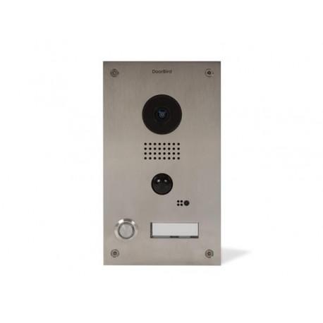 Doorbird based video phone, flush mounted