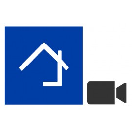Home center camera connection