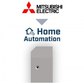INTESIS - Mitsubishi Electric Domestic, Mr.Slim and City Multi to Home Automation Interface - 1 unit