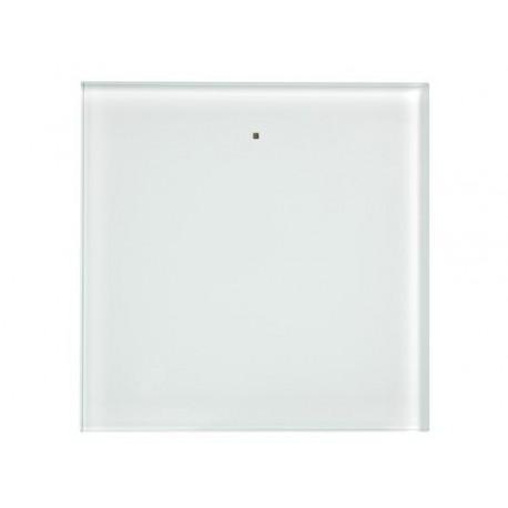 1 knop glazen aanraakpaneel - (WIT)