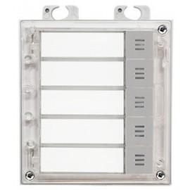 2N® Helios IP Verso - 5 nameplates module