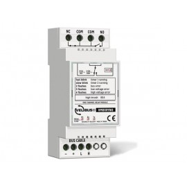 1-channel velbus® relay module