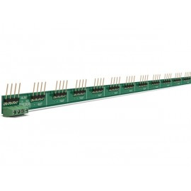 Interconnection rail for velbus din-rail modules