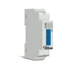 Single phase energy meter for din rail mounting, 5 (40) a, for connection to vmb7in