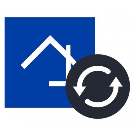 Home center licentie vernieuwing