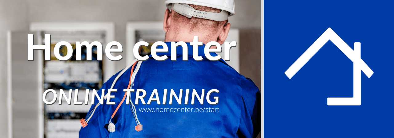 Home center online training