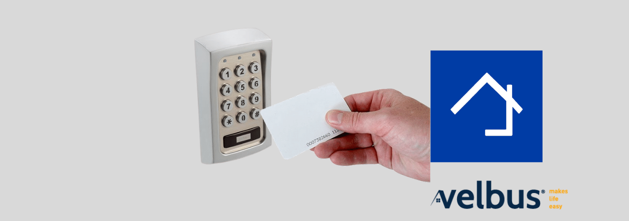 Keypad with RFID